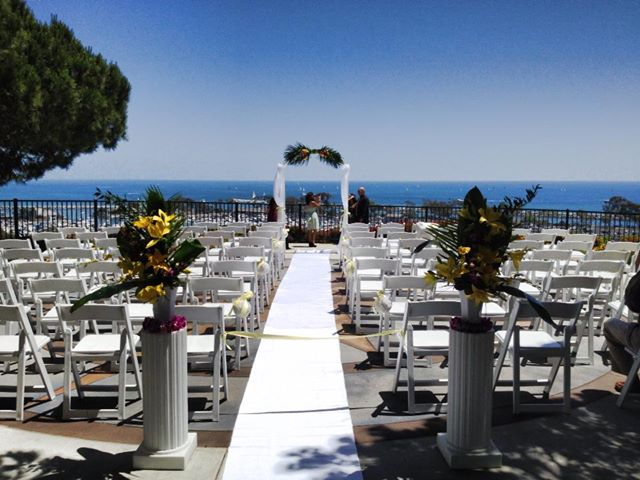 ocean front wedding at heritage park in dana point great officiants. Black Bedroom Furniture Sets. Home Design Ideas