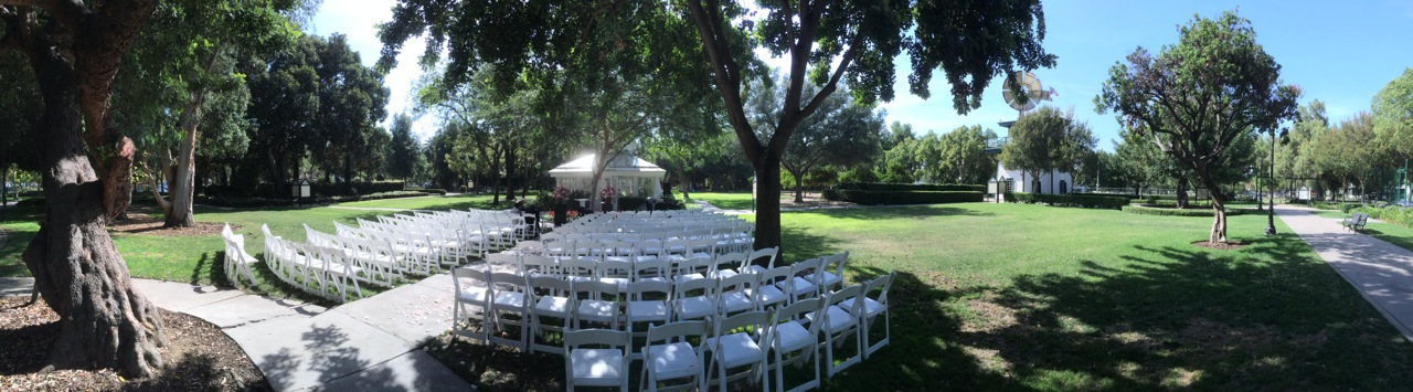 Roger S Second Wedding This Weekend Was At A Location He Had Not Married Before It The Heritage Park In Santa Fe Springs