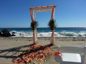 8-16-14 Point Dume Beach Wedding
