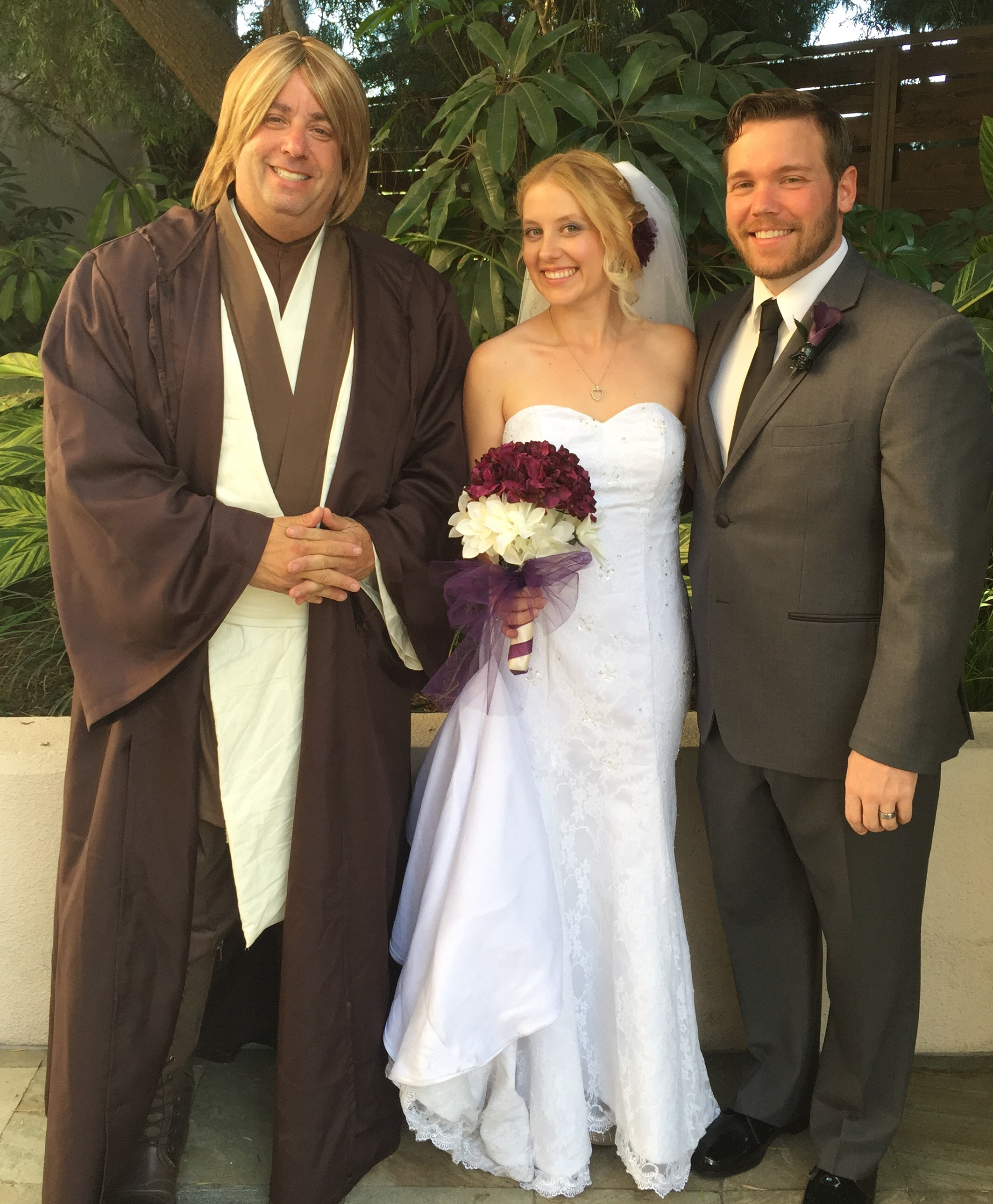 May The 4th Be With You Wedding