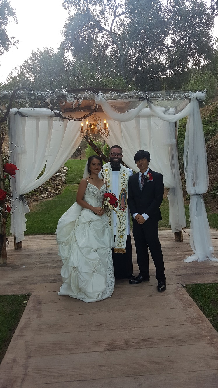 Three Weddings From all over, one at the Shade Hotel in Manhattan Beach, one at the Athenaeum in Pasadena, and one at Los Willows Private Estate in San Diego