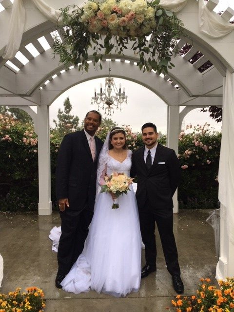 San Dimas Golf Club wedding