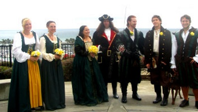 pirate wedding